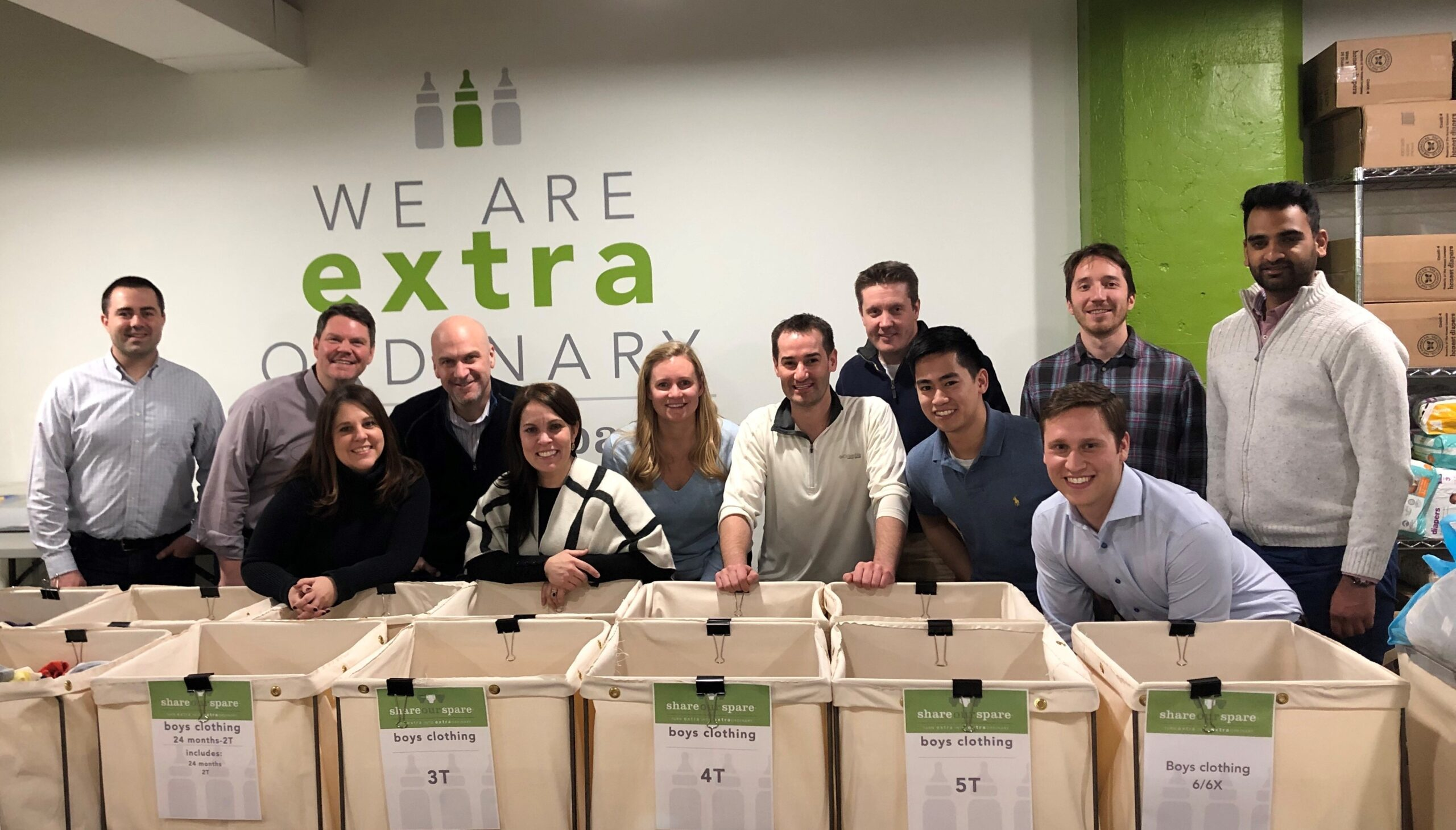 Kenway Employees Volunteering With Share Our Spare